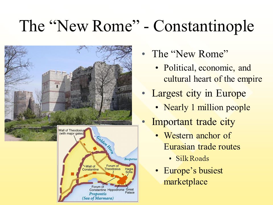 The New Rome - Constantinople