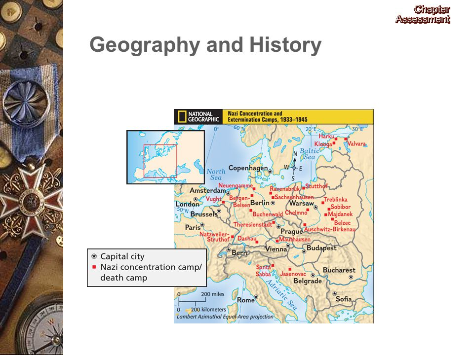 The Holocaust Geography and History.