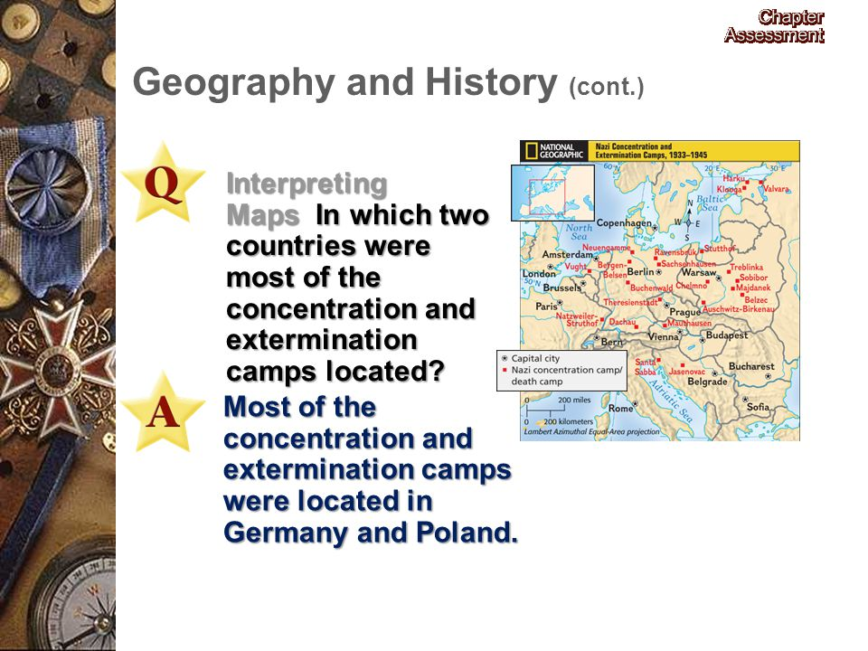 Geography and History (cont.)