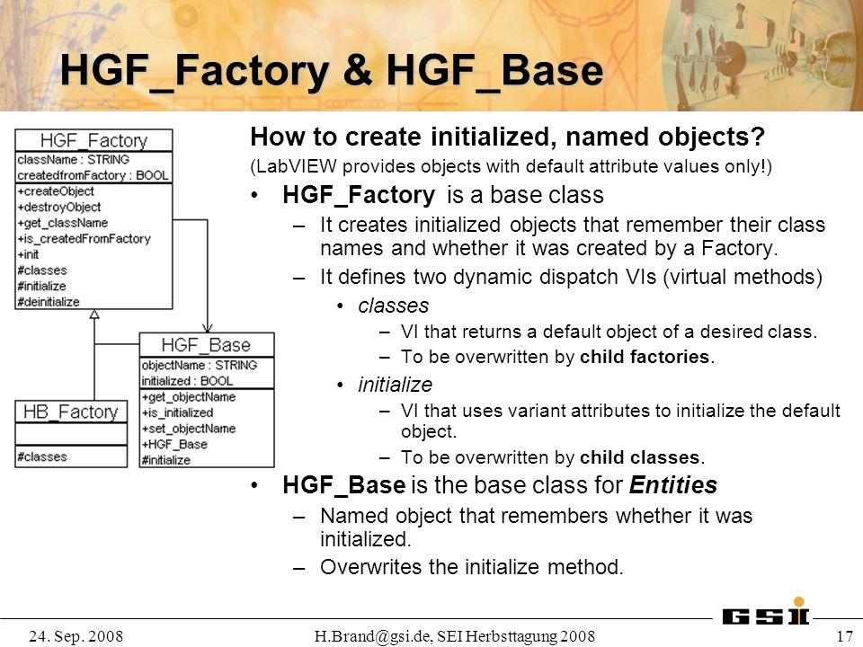 HGF_Factory & HGF_Base