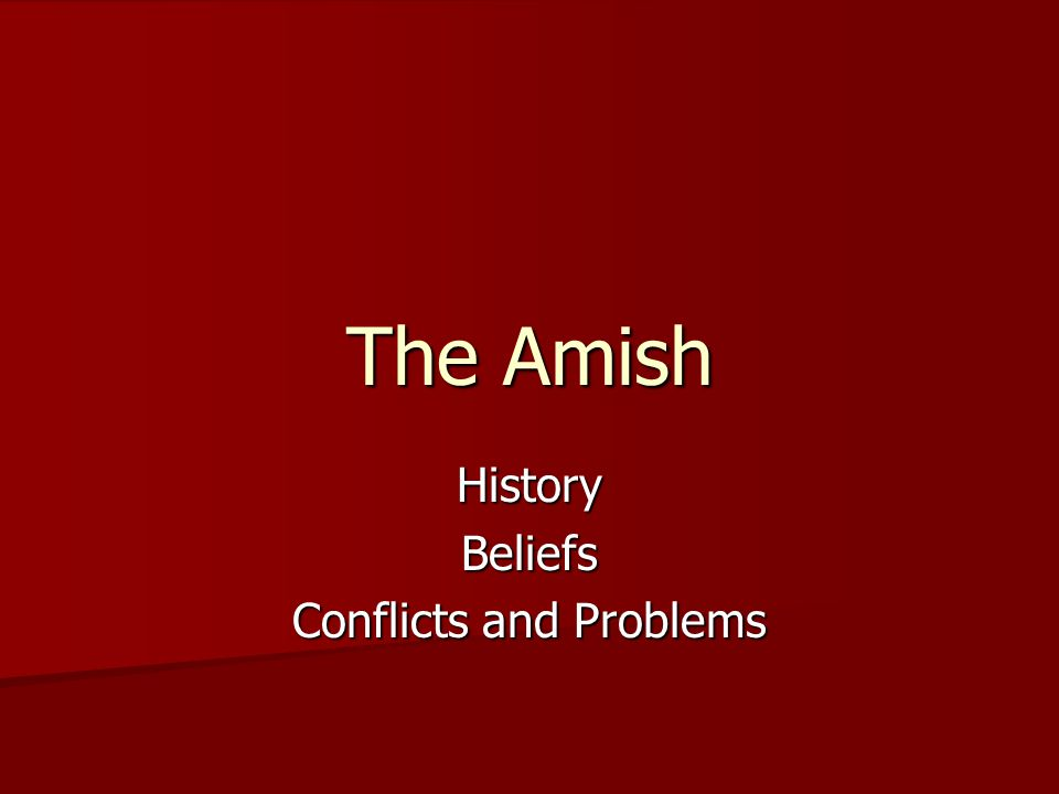 History Beliefs Conflicts and Problems