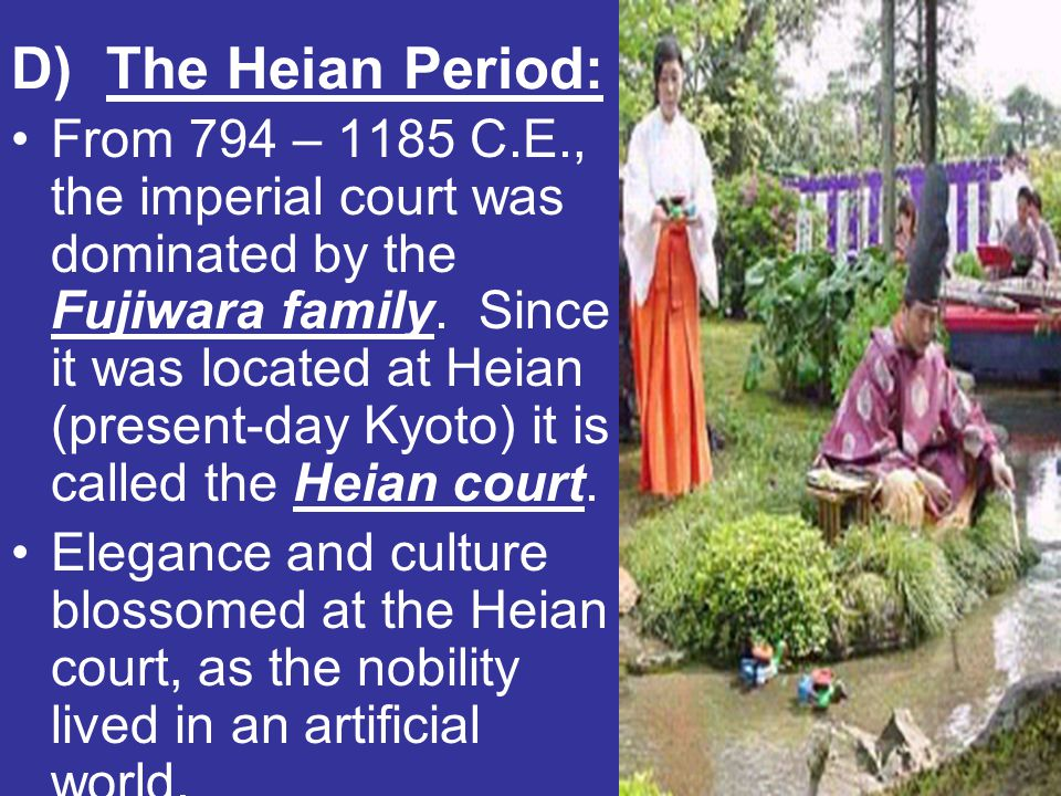 D) The Heian Period: