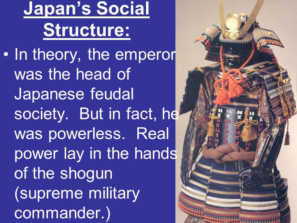 Japan's Social Structure: