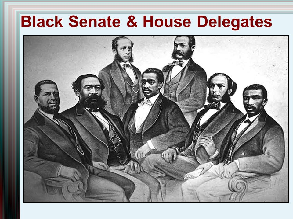 Black Senate & House Delegates