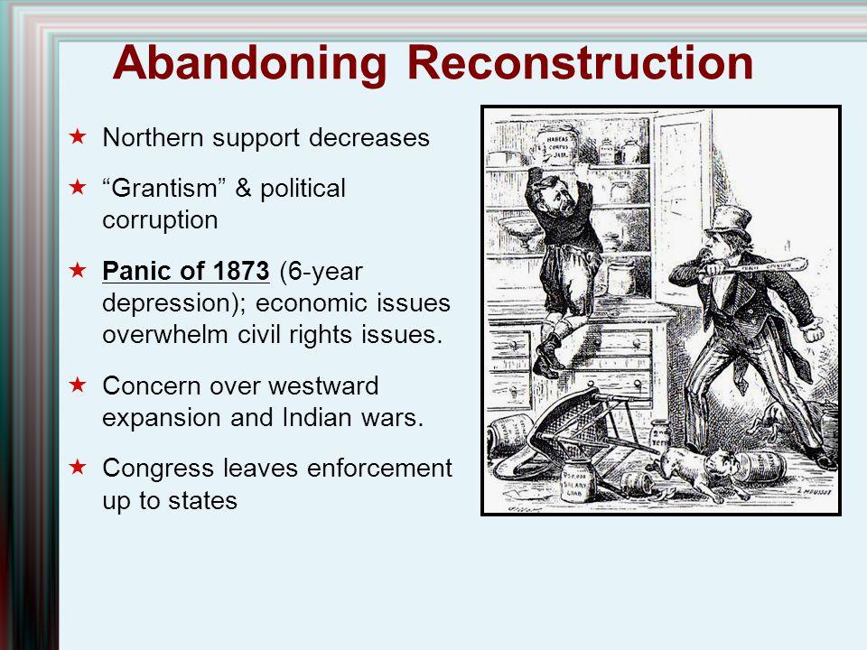 Abandoning Reconstruction