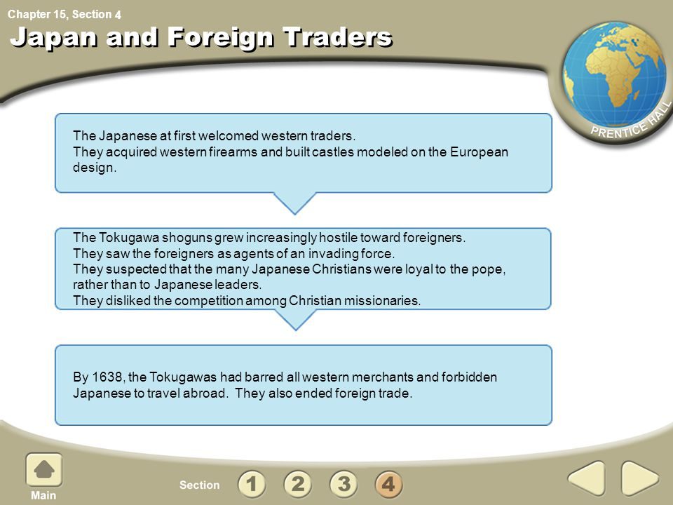 Japan and Foreign Traders