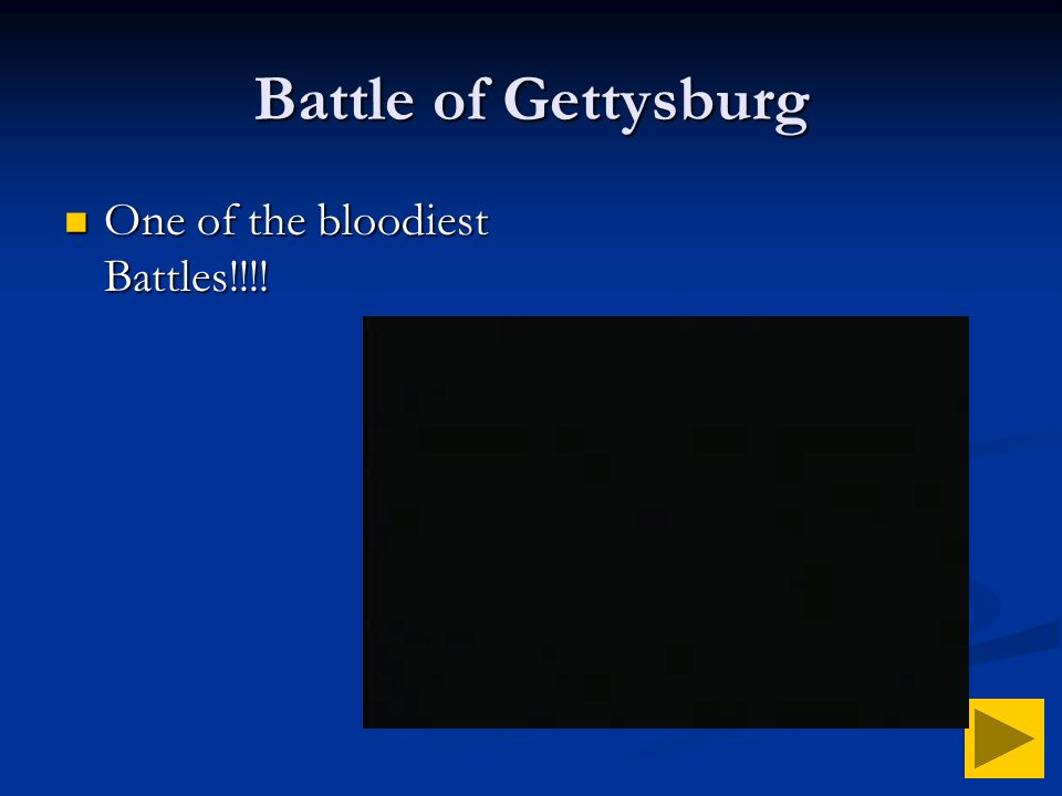 Battle of Gettysburg One of the bloodiest Battles!!!!