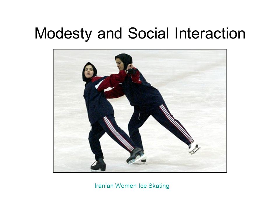 Modesty and Social Interaction