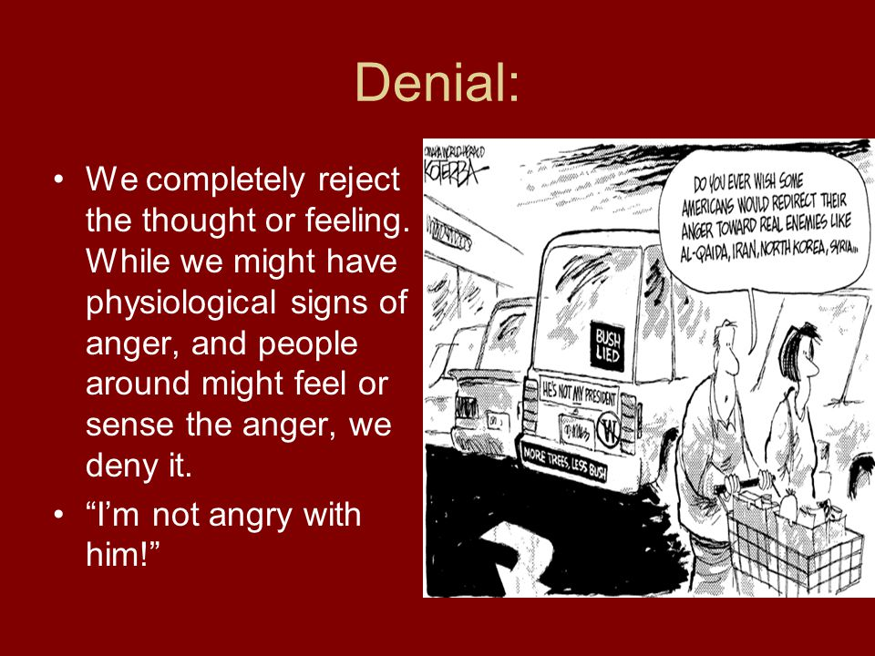 Denial: