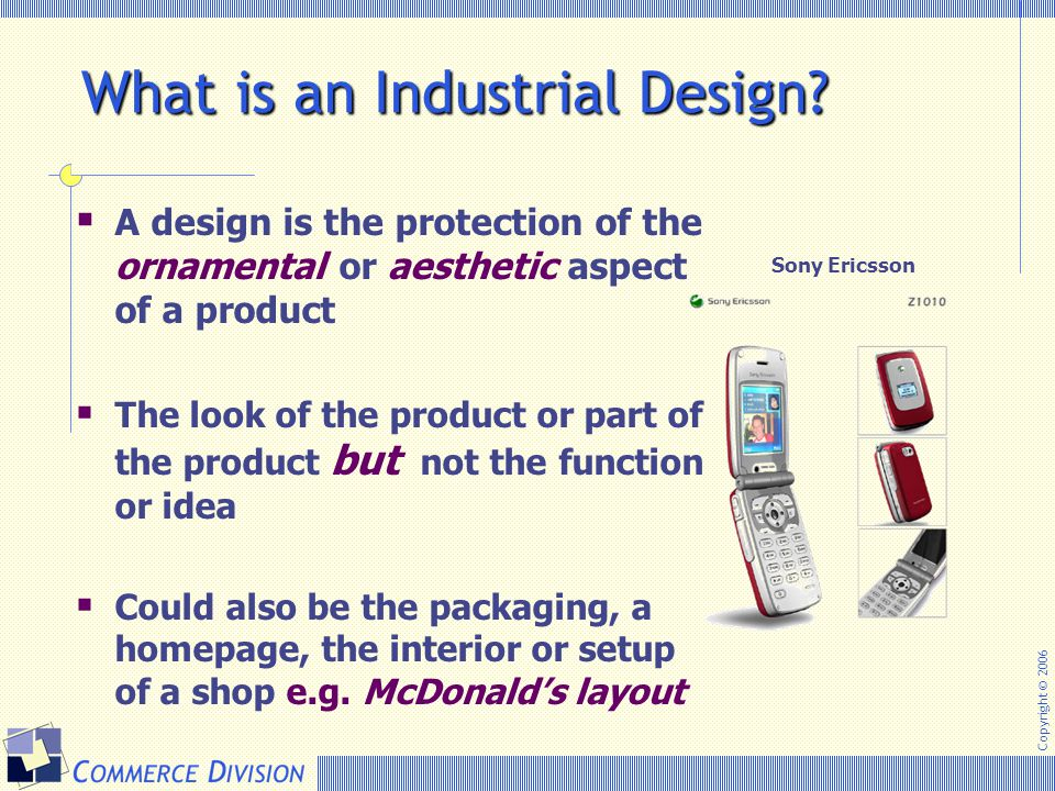 What is an Industrial Design