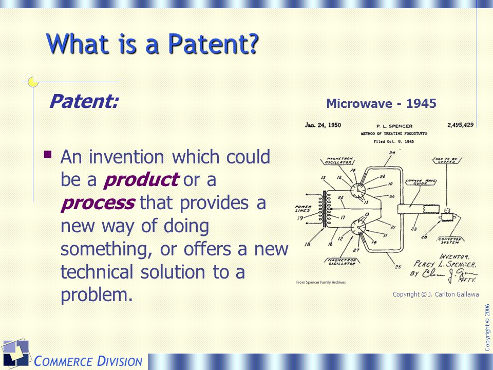 What is a Patent Patent: