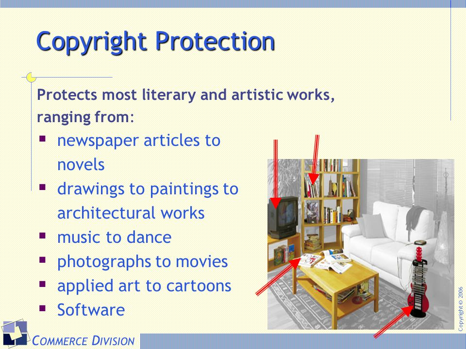 Copyright Protection newspaper articles to novels