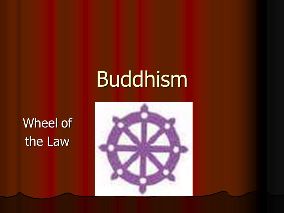 Buddhism Wheel of the Law