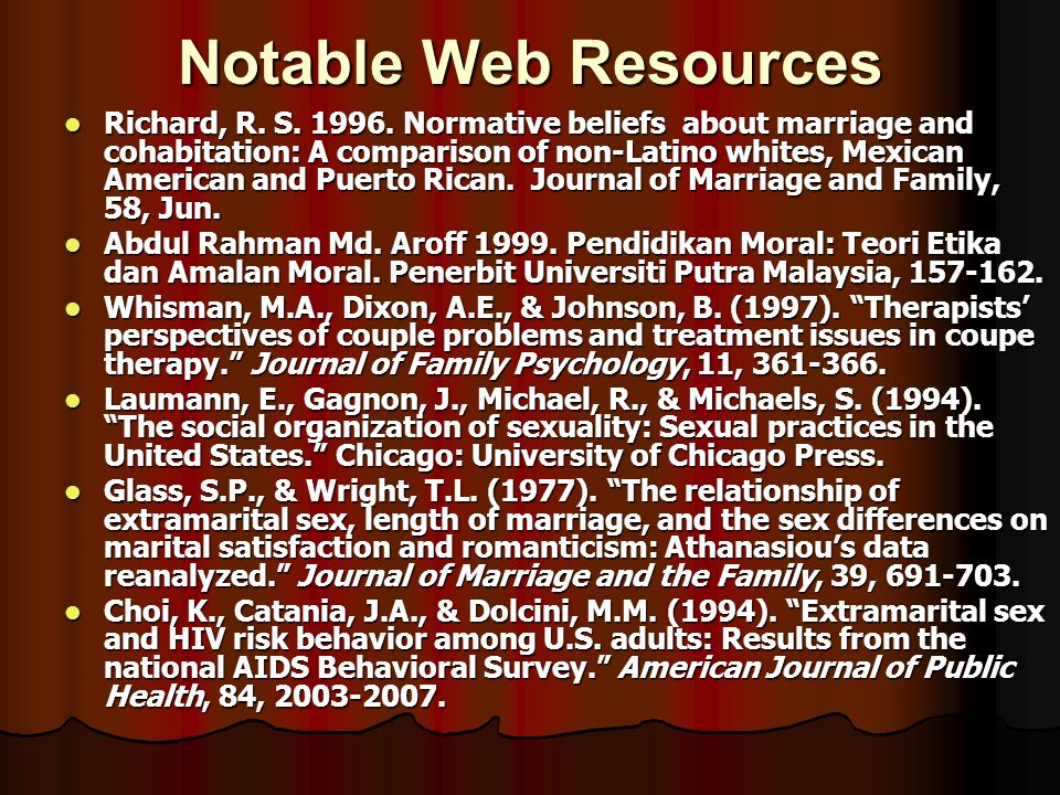 Notable Web Resources