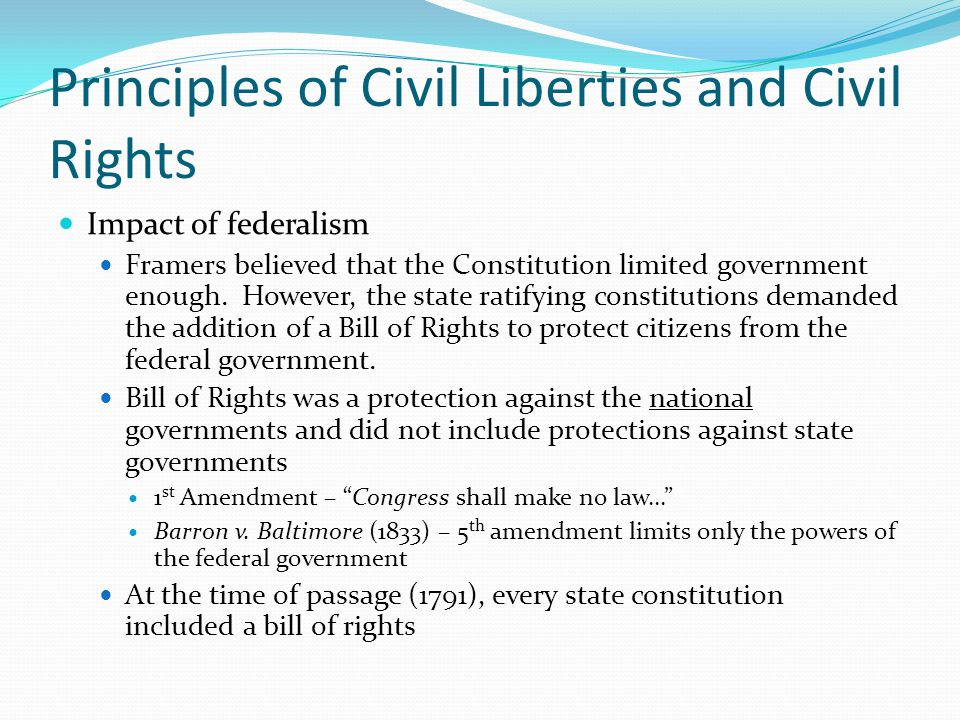 Civil Liberties Amp Civil Rights Ppt Video Online Download