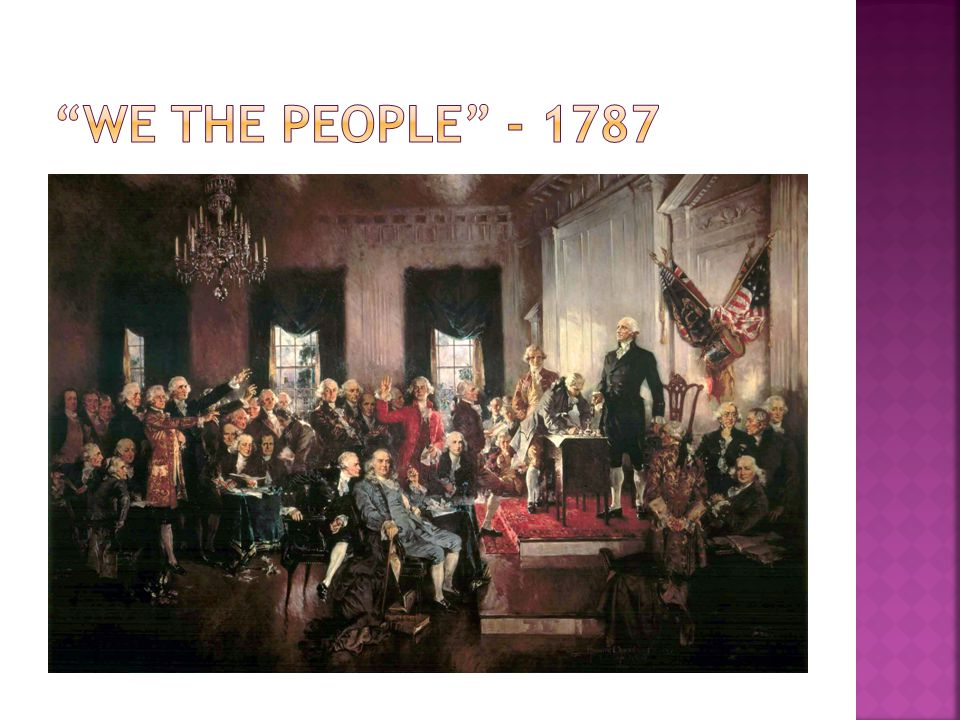 We the People - 1787