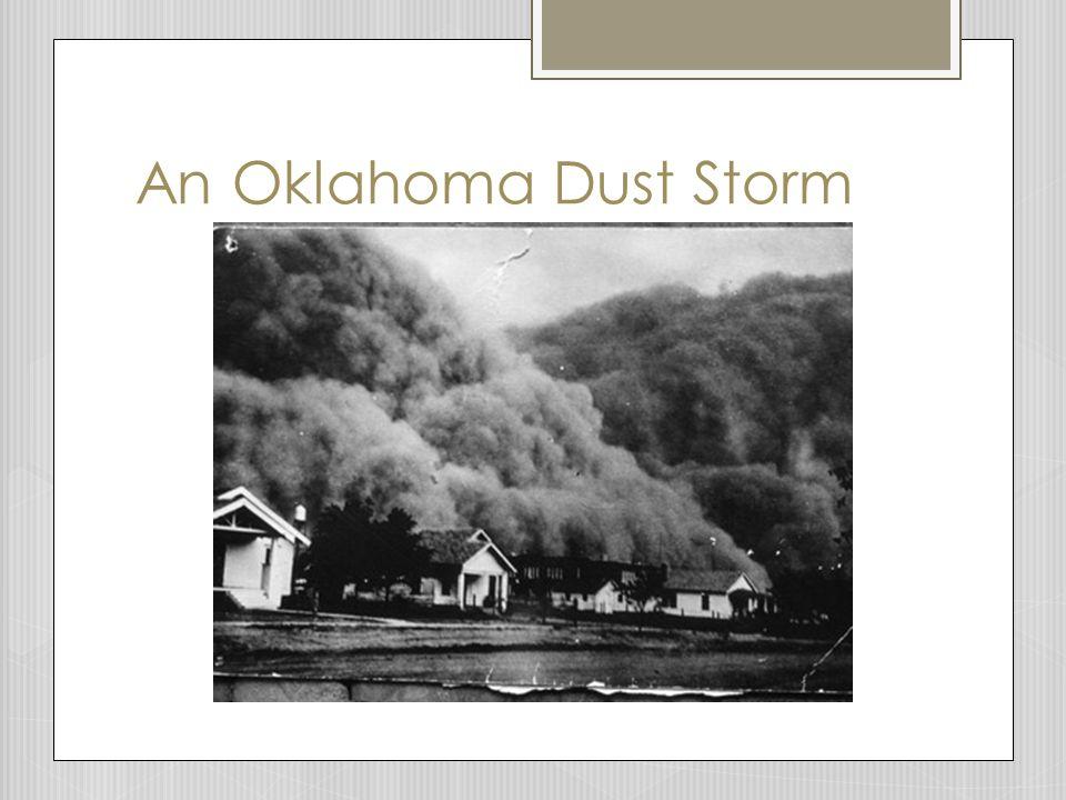 An Oklahoma Dust Storm