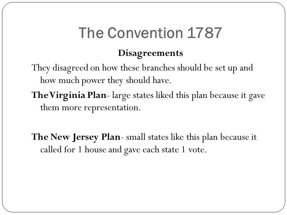 The Convention 1787