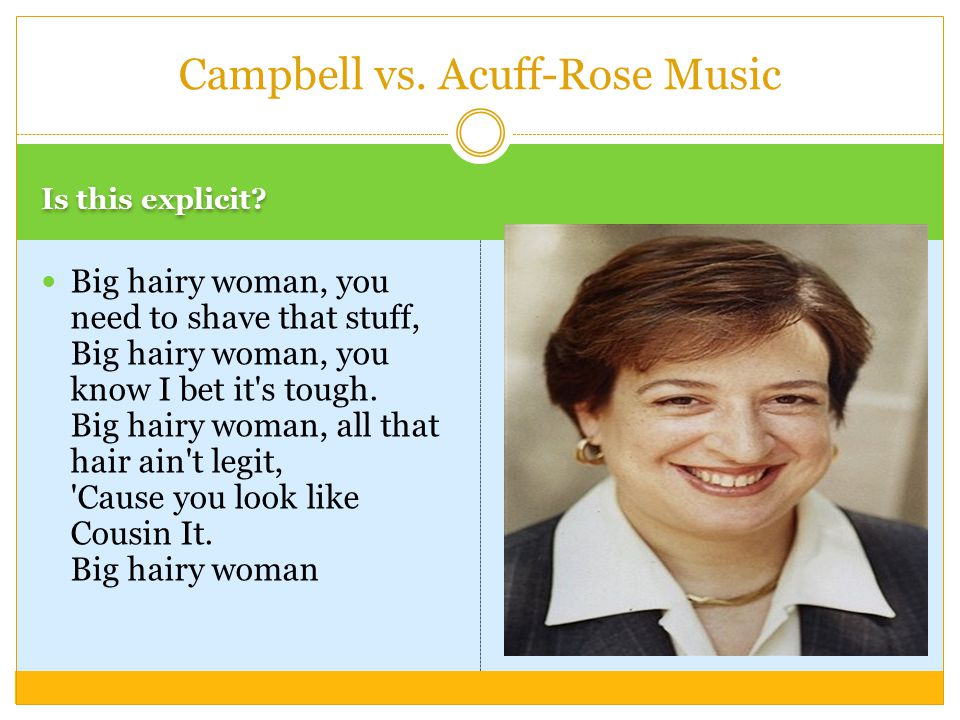 Campbell vs. Acuff-Rose Music