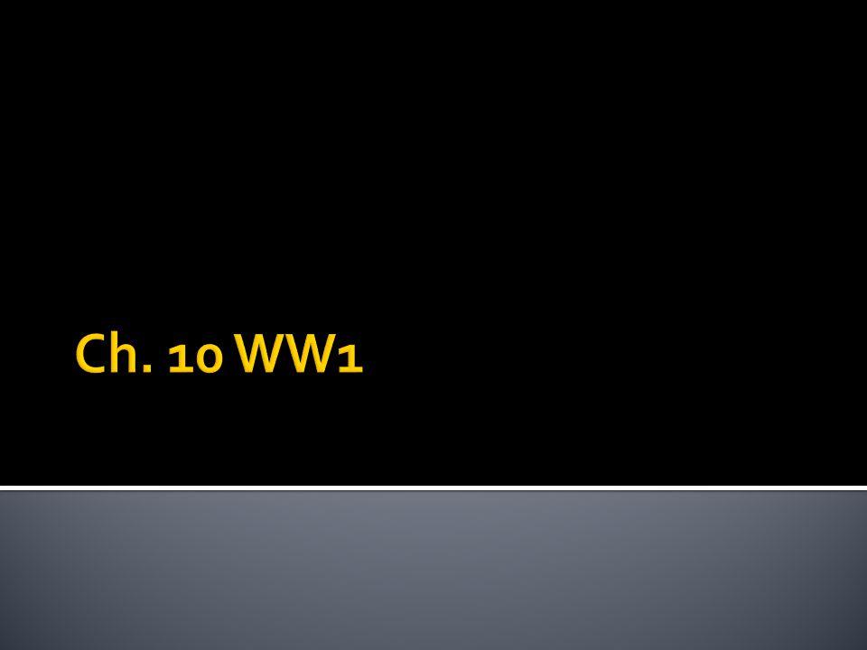 Ch. 10 WW1