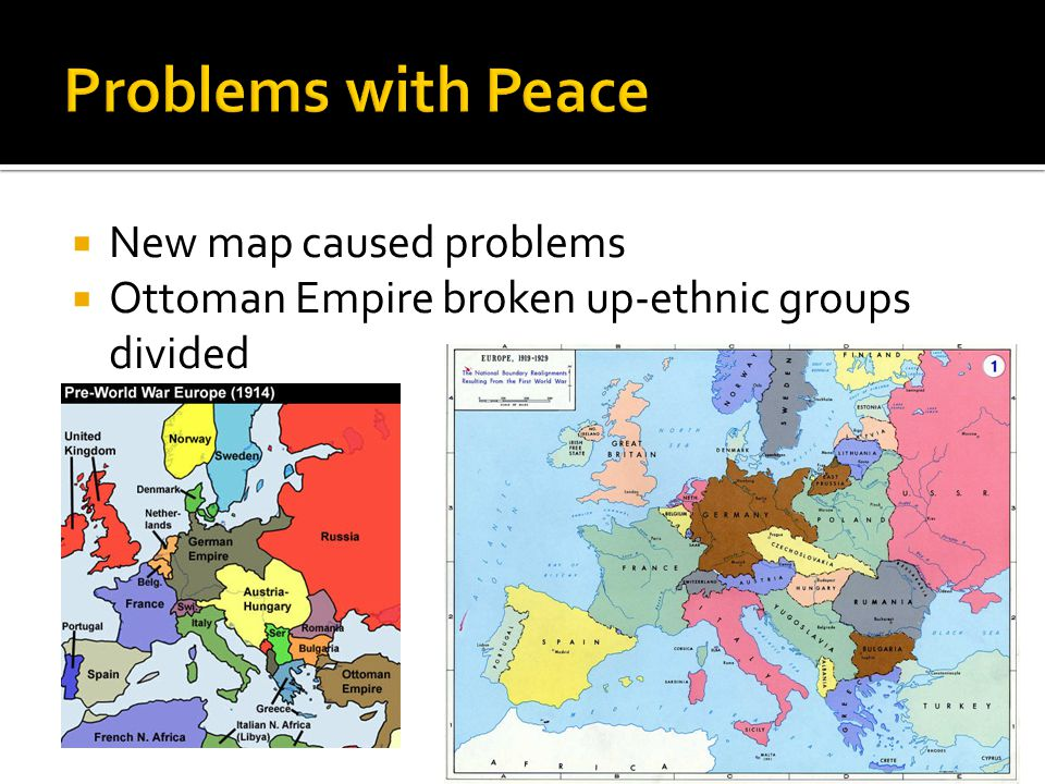 Problems with Peace New map caused problems