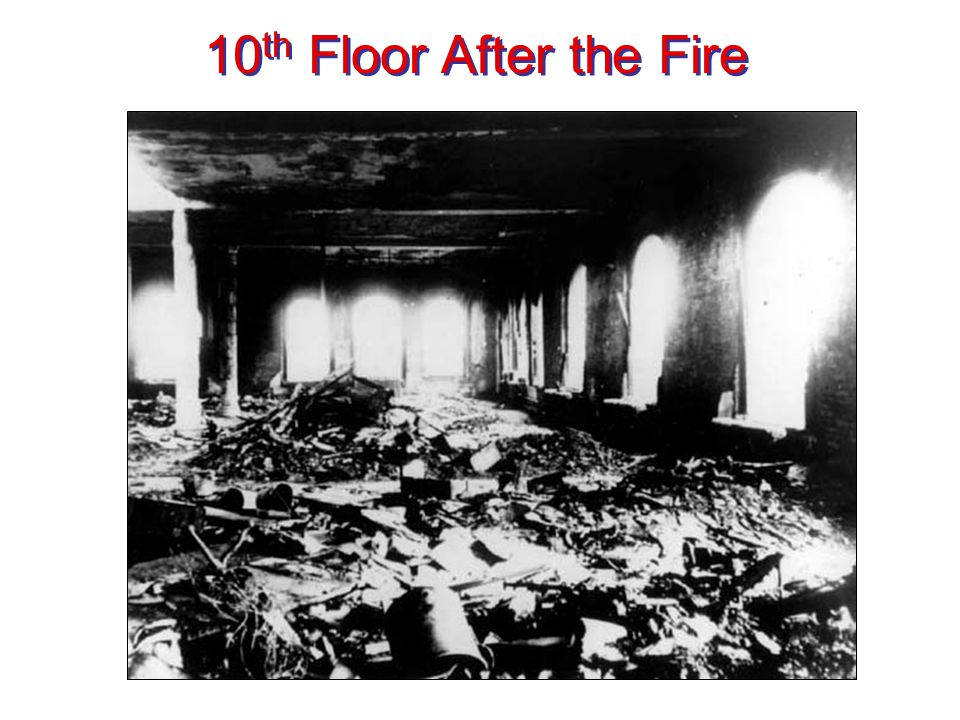 10th Floor After the Fire