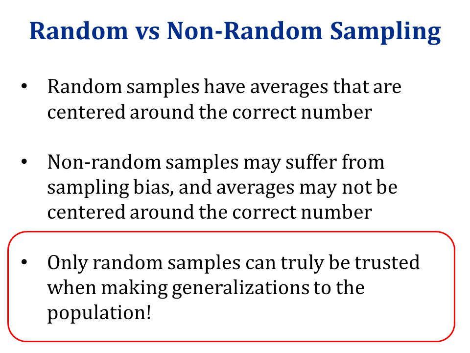 Data Collection: Sampling - ppt download