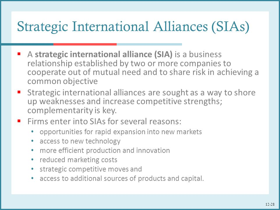 joint ventures strategic alliances partnership and relationship management