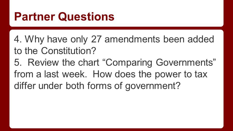 Partner Questions Part Detail Preamble Articles Amendments