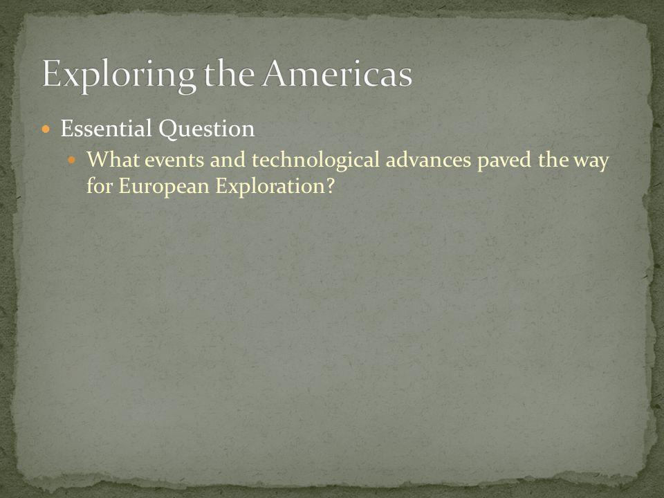 Exploring the Americas