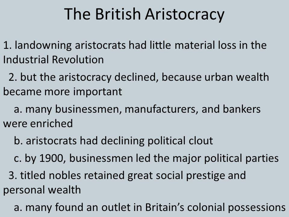 The British Aristocracy