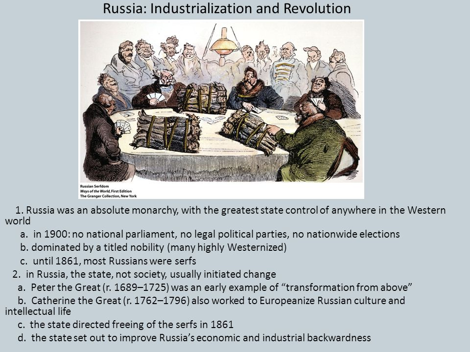Russia: Industrialization and Revolution