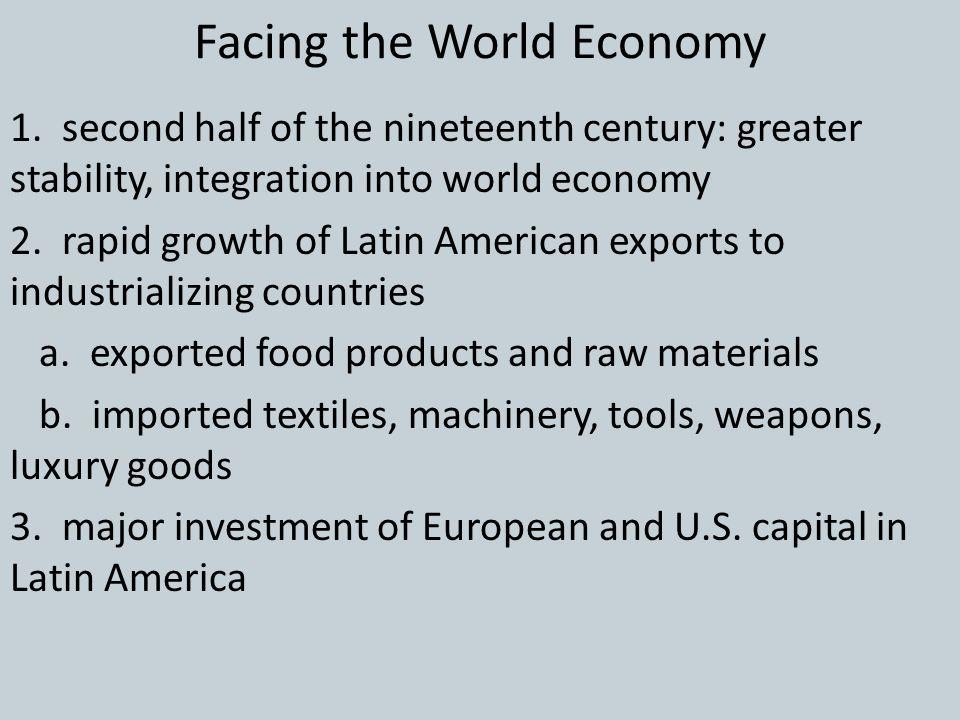 Facing the World Economy