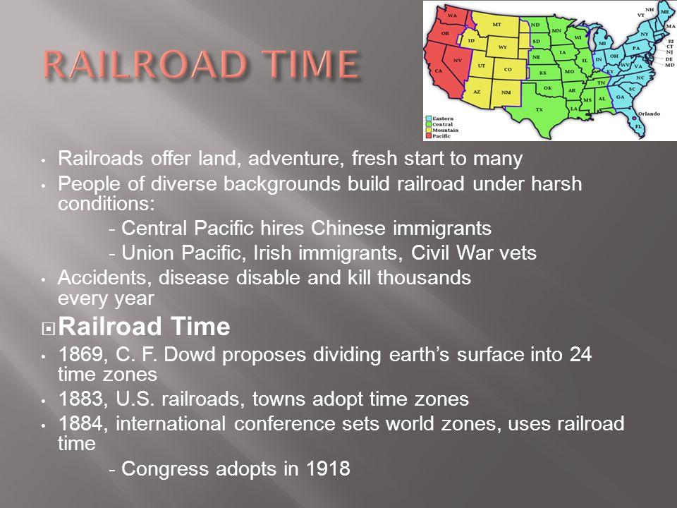 RAILROAD TIME Railroad Time