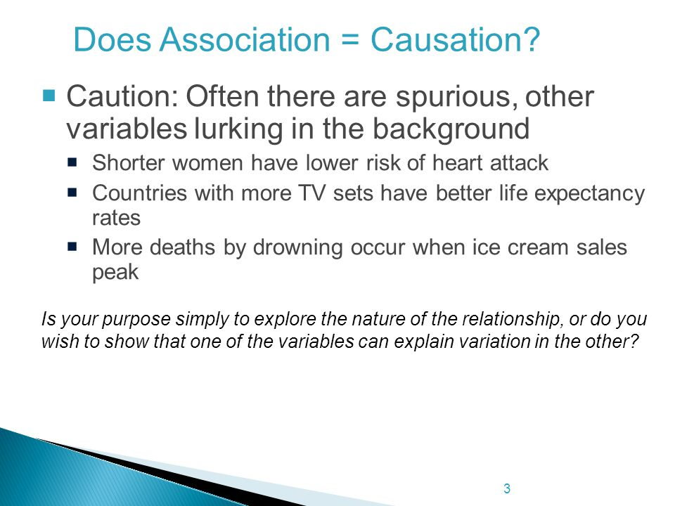 Does Association = Causation