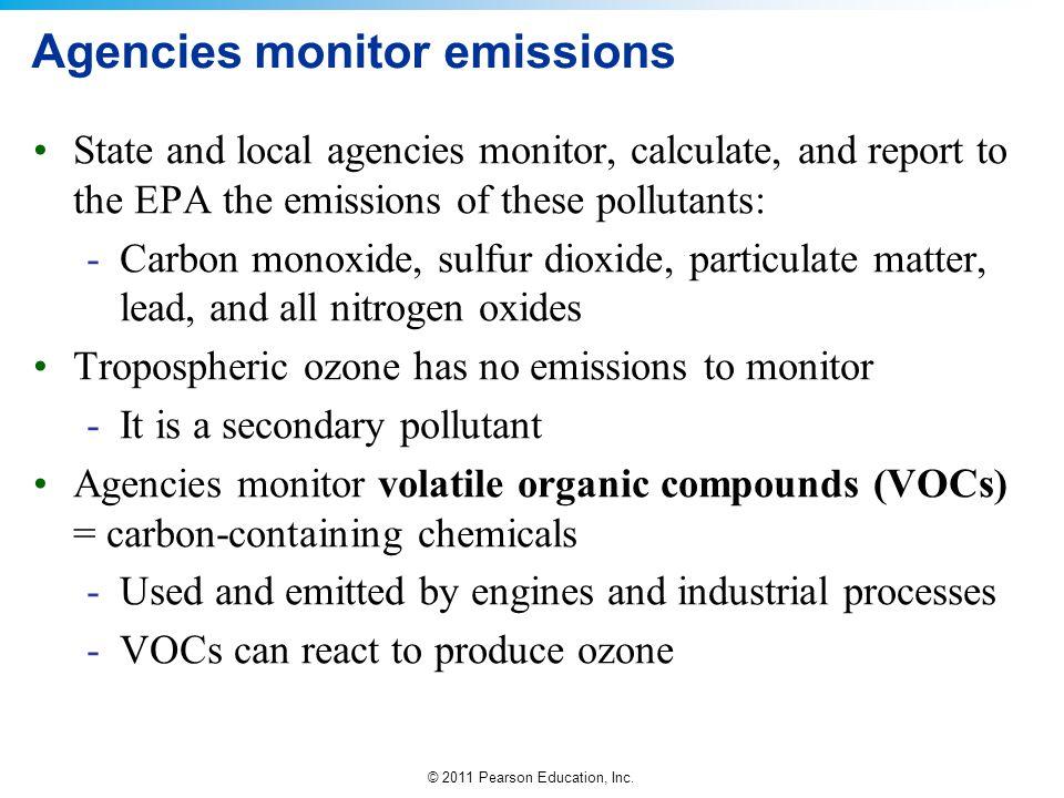 Agencies monitor emissions