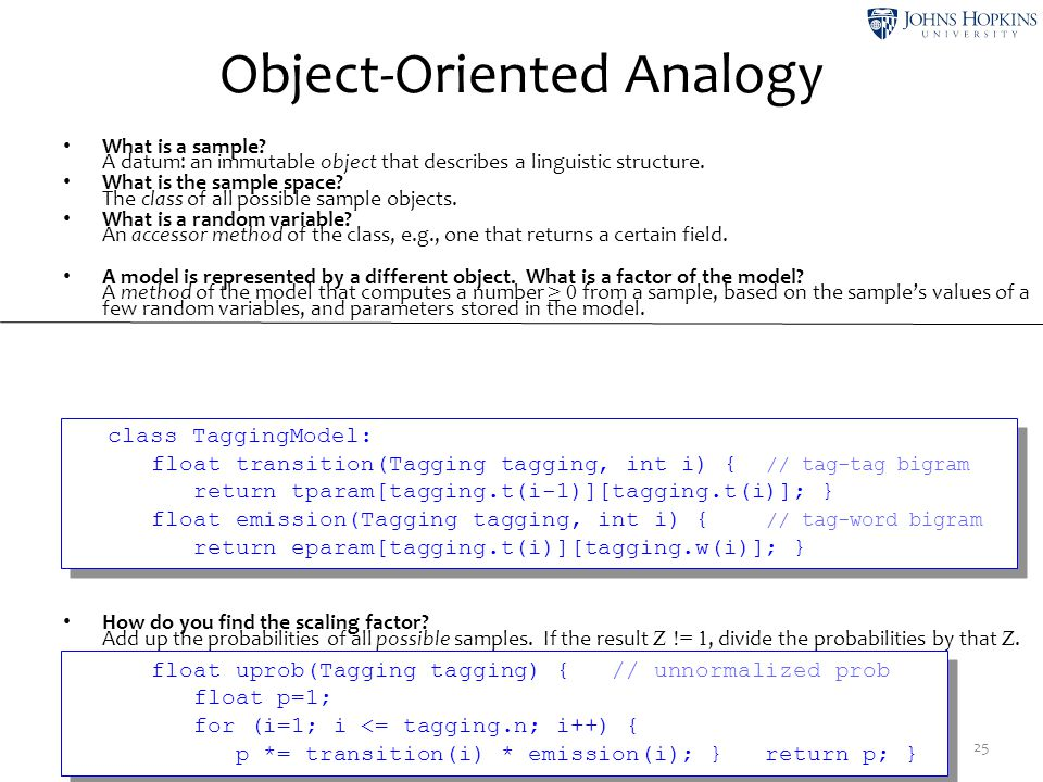Object-Oriented Analogy