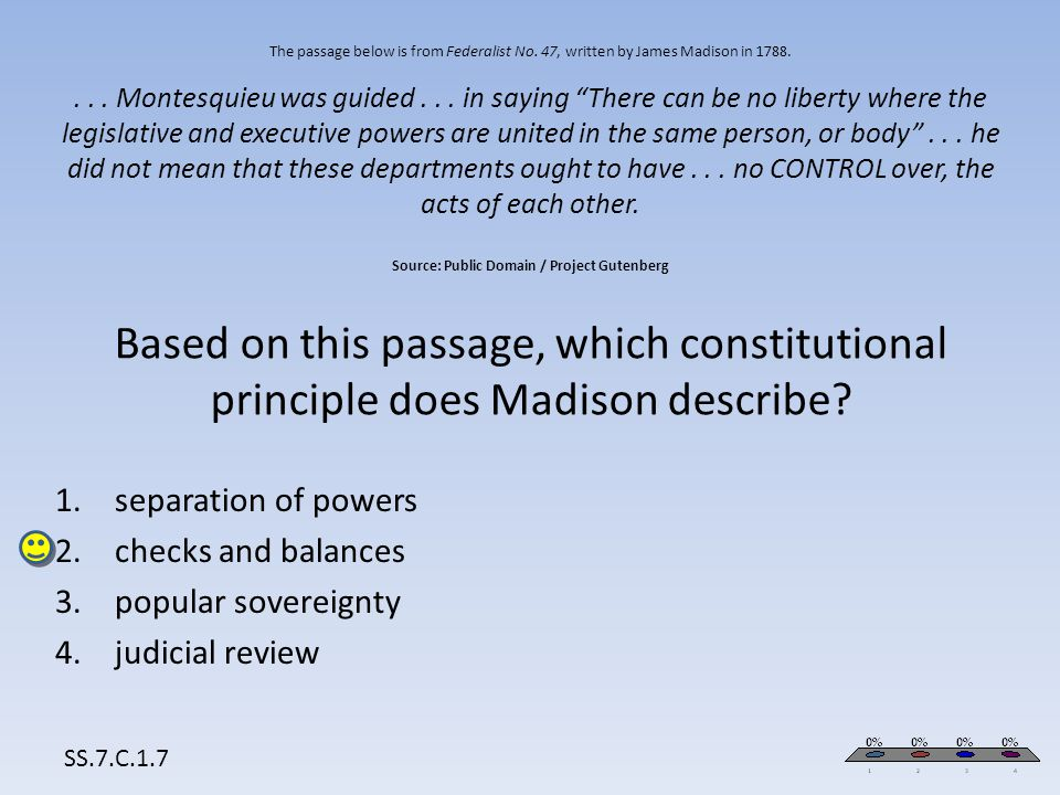 separation of powers checks and balances popular sovereignty