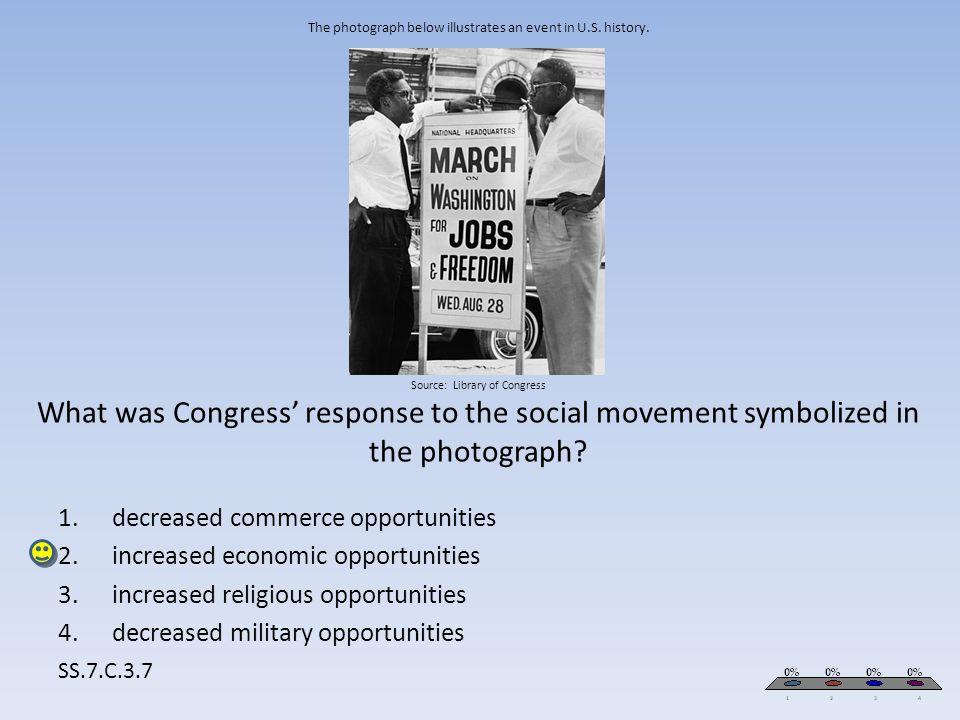 decreased commerce opportunities increased economic opportunities