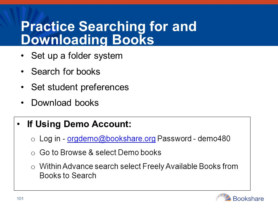 Practice Searching for and Downloading Books