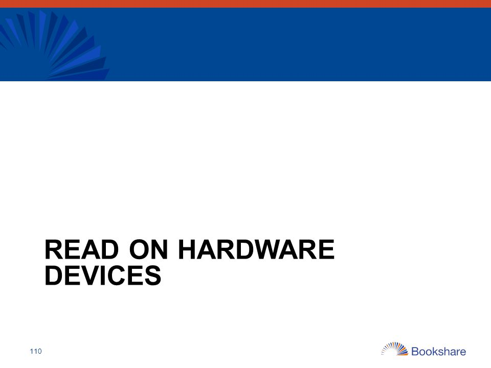 Read On Hardware Devices