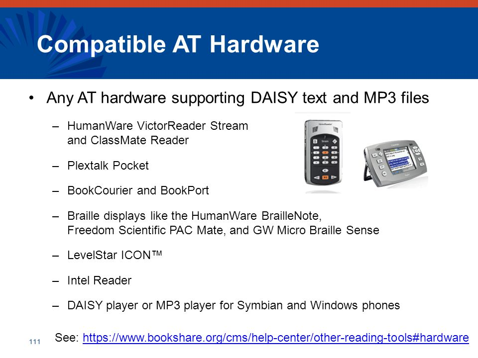 Compatible AT Hardware