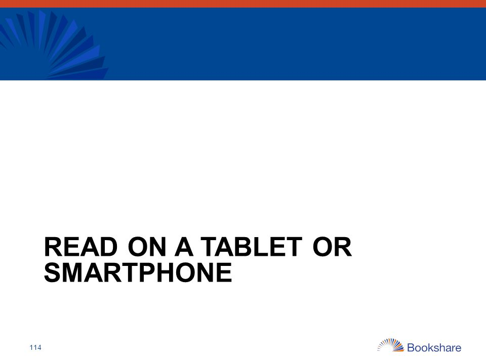 Read On a Tablet or Smartphone
