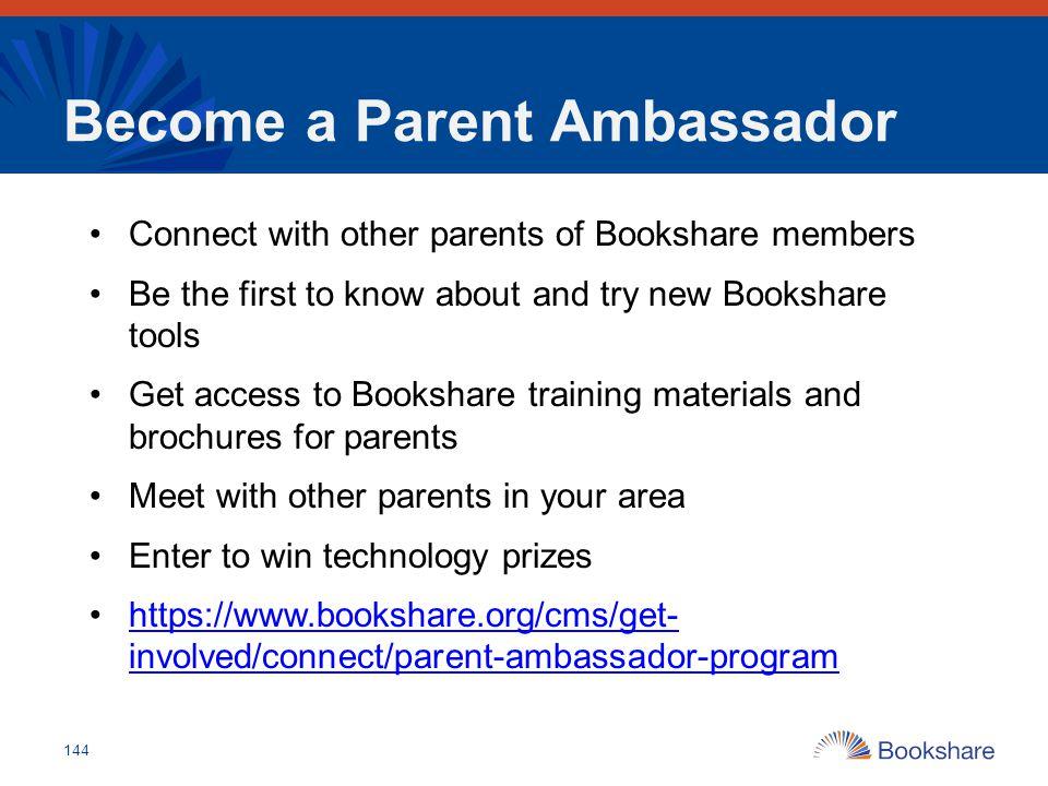 Become a Parent Ambassador