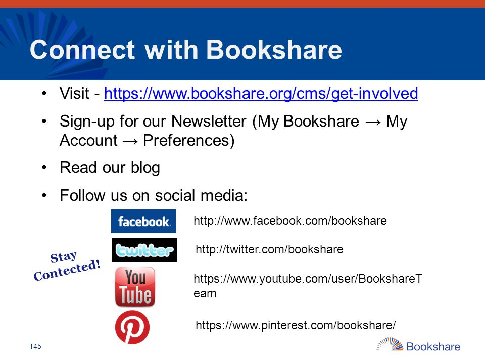 Connect with Bookshare