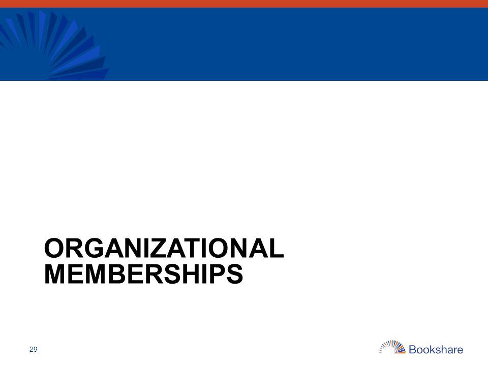 Organizational Memberships