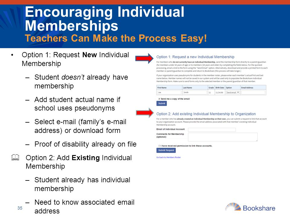 Encouraging Individual Memberships Teachers Can Make the Process Easy!