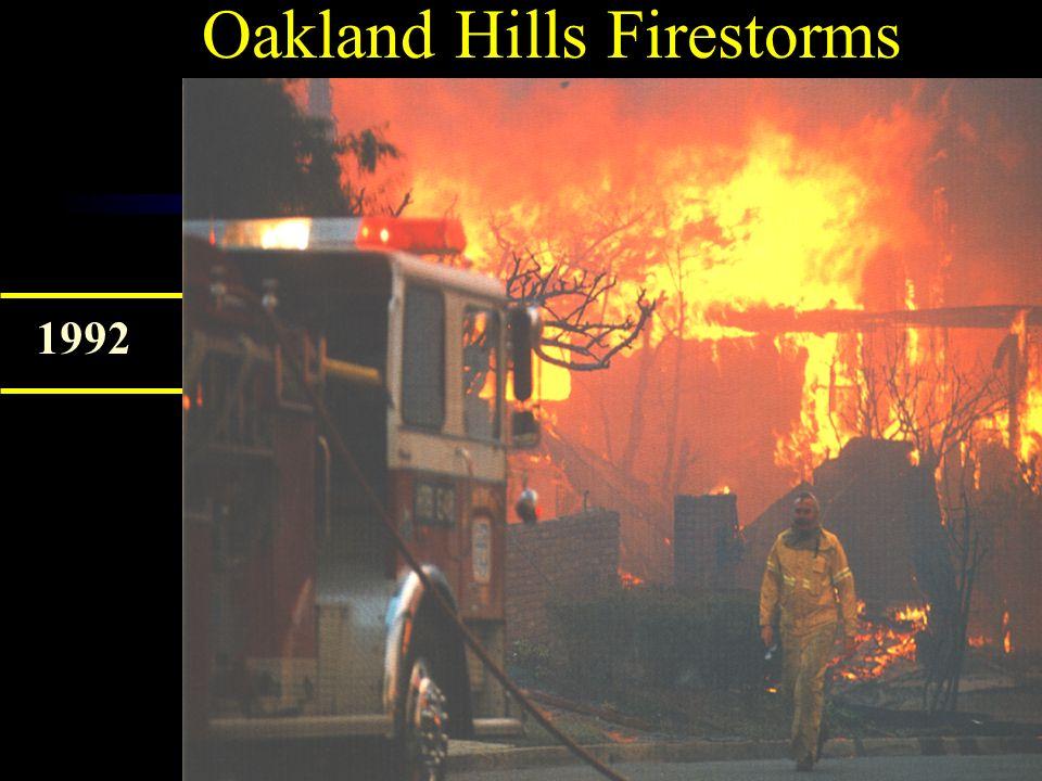 Oakland Hills Firestorms