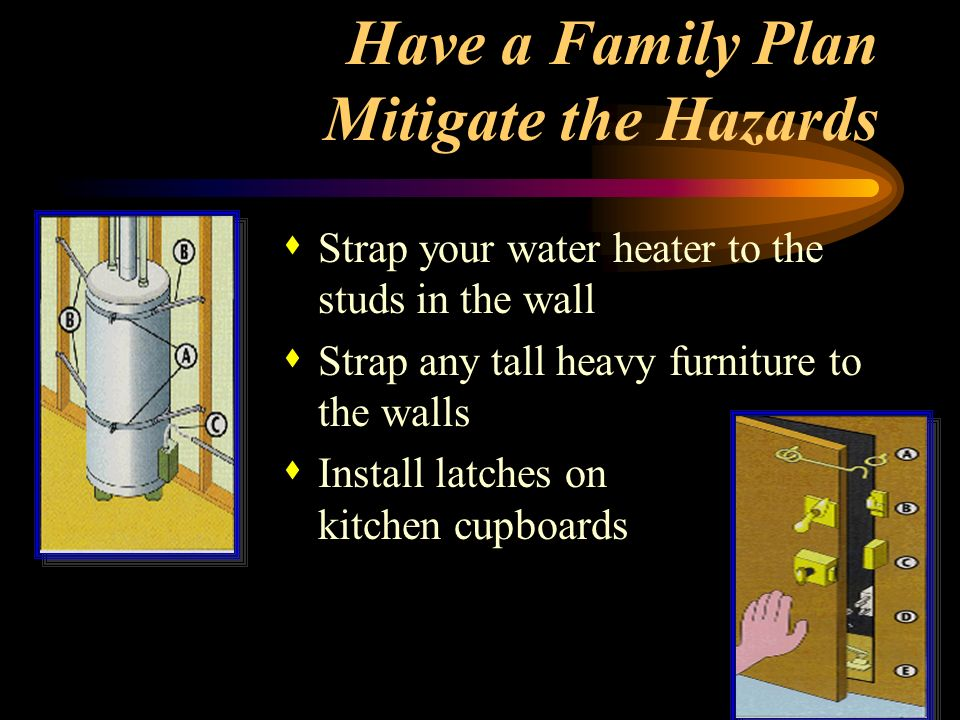 Have a Family Plan Mitigate the Hazards