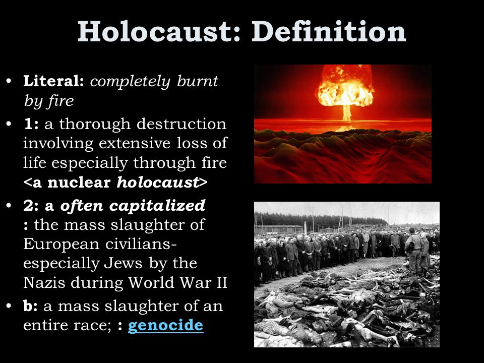 Holocaust: Definition